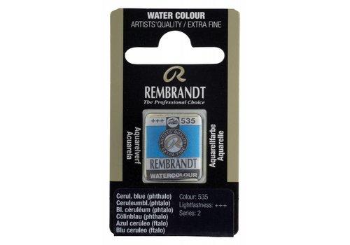 Rembrandt Aquarelverf napje Ceruleumblauw phtalo 535