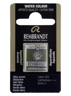 Rembrandt Aquarelverf napje Olijfgroen 620