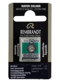 Rembrandt Aquarelverf napje Vert emeraude 616