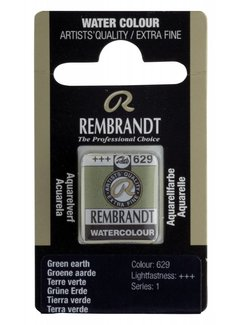 Rembrandt Aquarelverf napje Groene aarde 629