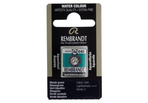 Rembrandt Aquarelverf napje Blauwgroen 640