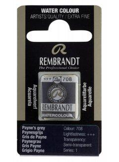 Rembrandt Aquarelverf napje Paynesgrijs 708