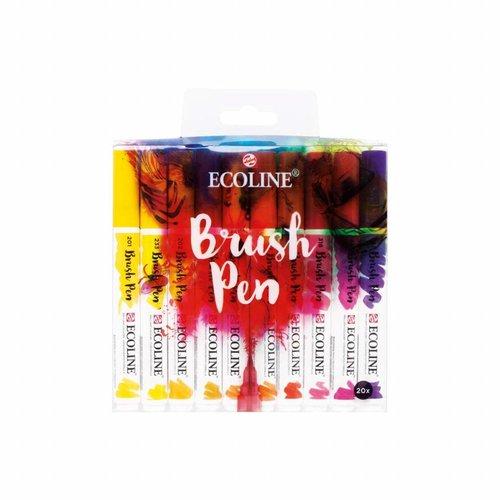 Ecoline brushpen set 20