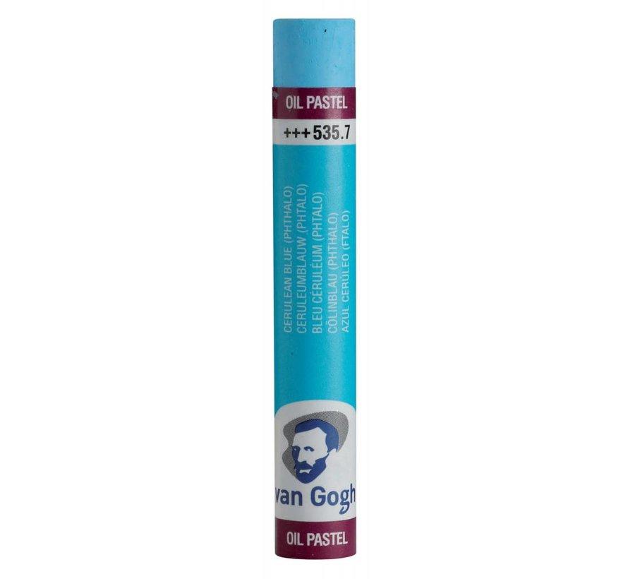 Oliepastel Ceruleumblauw (phtalo) 7
