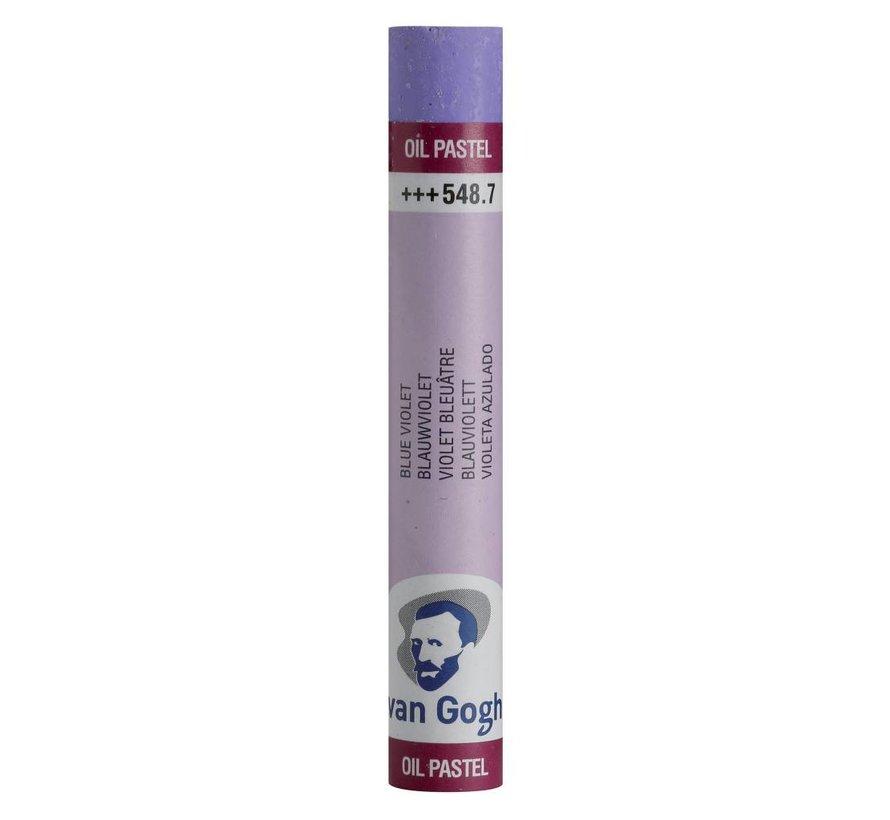 Oliepastel Blauwviolet 7