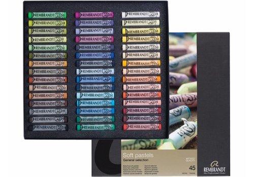 Rembrandt Softpastels basisset 300C45
