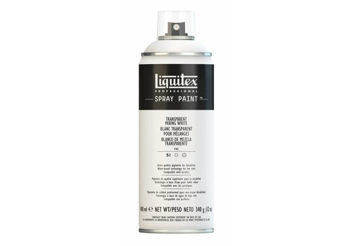 Liquitex Acrylverf spuitbus 400ml Transparent Mixing White