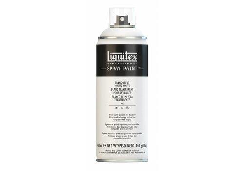 Liquitex Acrylverf spuitbus 400ml Transparent Mixing White