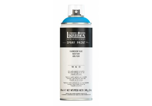 Liquitex Acrylverf spuitbus 400ml Fluorescent Blue