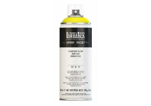 Liquitex Acrylverf spuitbus 400ml Fluorescent Yellow