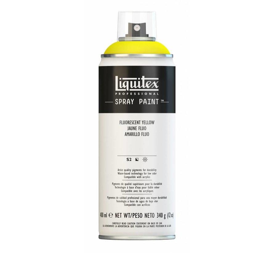 Acrylverf spuitbus 400ml Fluorescent Yellow