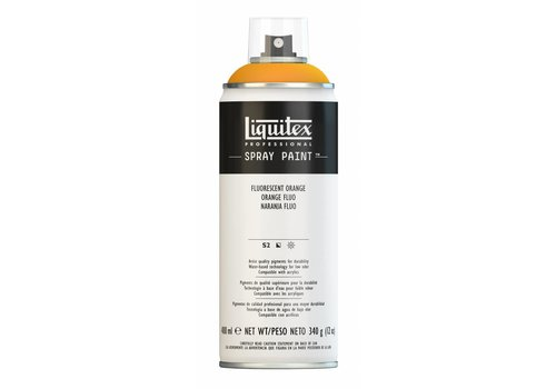 Liquitex Acrylverf spuitbus 400ml Fluorescent Orange
