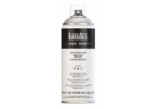 Liquitex Acrylverf spuitbus 400ml Iridescent Silver