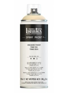 Liquitex Acrylverf spuitbus 400ml Unbleached Titanium