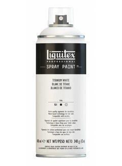 Liquitex Acrylverf spuitbus 400ml Titanium White
