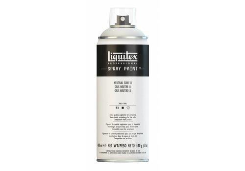 Liquitex Acrylverf spuitbus 400ml Neutral Grey 8