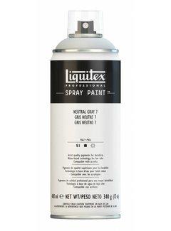 Liquitex Acrylverf spuitbus 400ml Neutral Grey 7