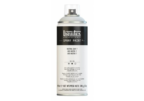 Liquitex Acrylverf spuitbus 400ml Neutral Grey 7