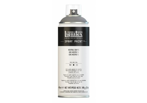 Liquitex Acrylverf spuitbus 400ml Neutral Grey 5