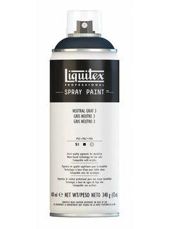 Liquitex Acrylverf spuitbus 400ml Neutral Grey 3