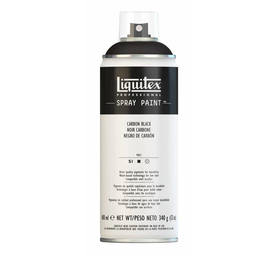 Acrylverf spuitbus 400ml Carbon Black