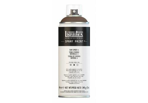 Liquitex Acrylverf spuitbus 400ml Raw Umber 6