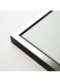Regenboog huismerk Baklijst blok zwart top zilver