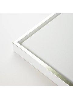 Regenboog huismerk Baklijst wit top zilver