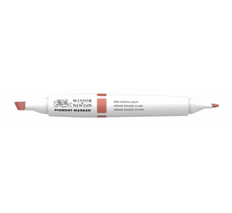 Pigment Marker Red Henna Light