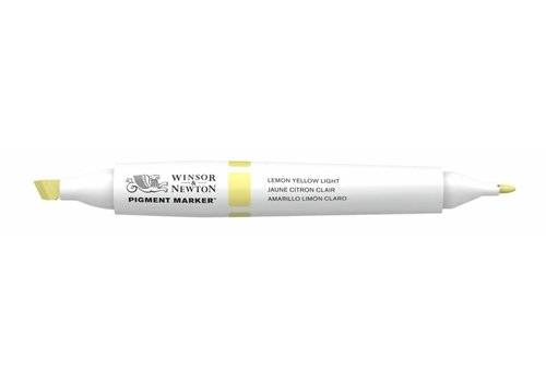 Winsor & Newton Pigment Marker Lemon Yellow Light