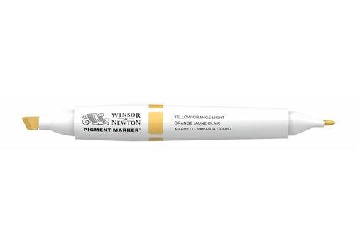 Winsor & Newton Pigment Marker Yellow Orange Light