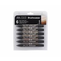 Brushmarker Set 6 Stuks Skin Tones