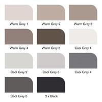 Brushmarker Set 12 Stuks Greys
