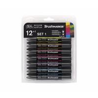 Brushmarker Set 12 Stuks Vibrant Tones