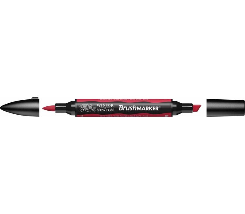 Brushmarker Berry Red
