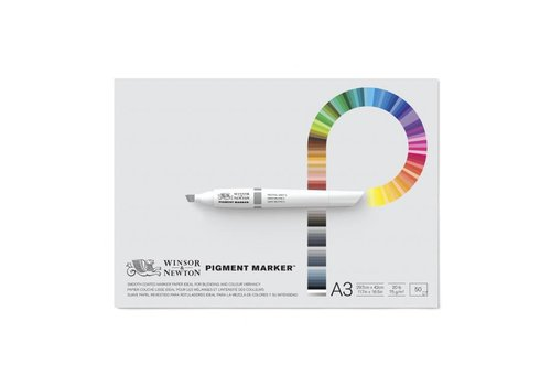 Winsor & Newton Pigment Maker Blok 1-zijdig gelijmd 50 vel 75gr A3