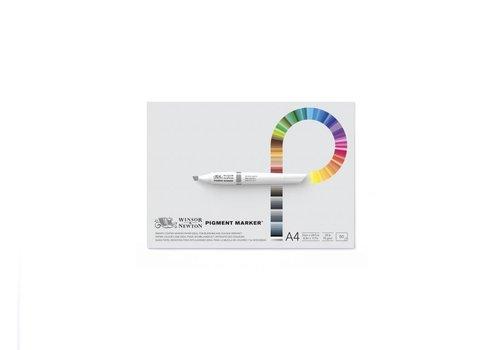 Winsor & Newton Pigment Maker Blok 1-zijdig gelijmd 50 vel 75gr A4