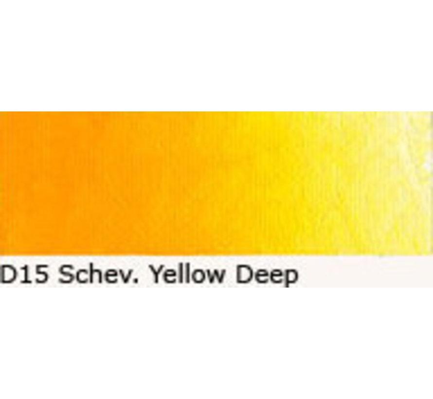 Scheveningen olieverf 40ml schev. yellow deep D15