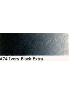 Oud Holland Scheveningen olieverf 40ml ivory black extra A74