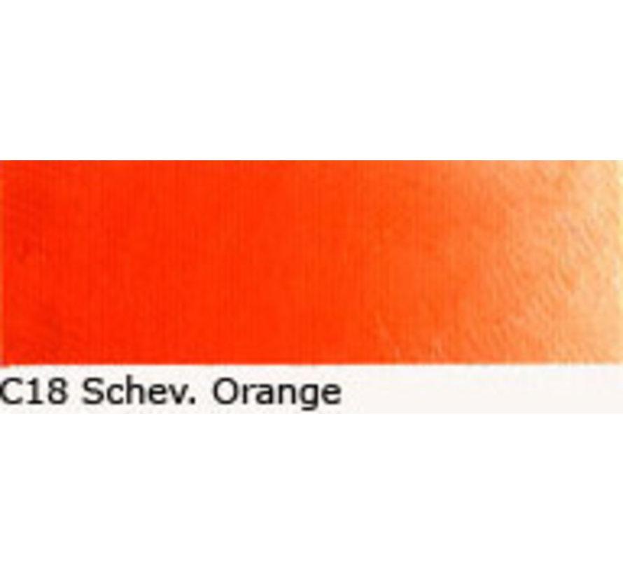 Scheveningen olieverf 40ml scheveningen orange C18