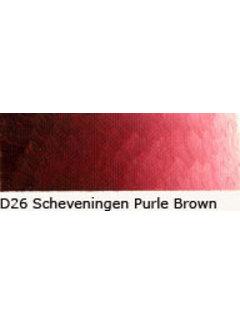 Oud Holland Scheveningen olieverf 40ml schev. purple brown D26