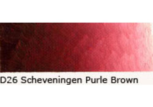 Oud Holland Scheveningen olieverf 40ml schev. purple brown