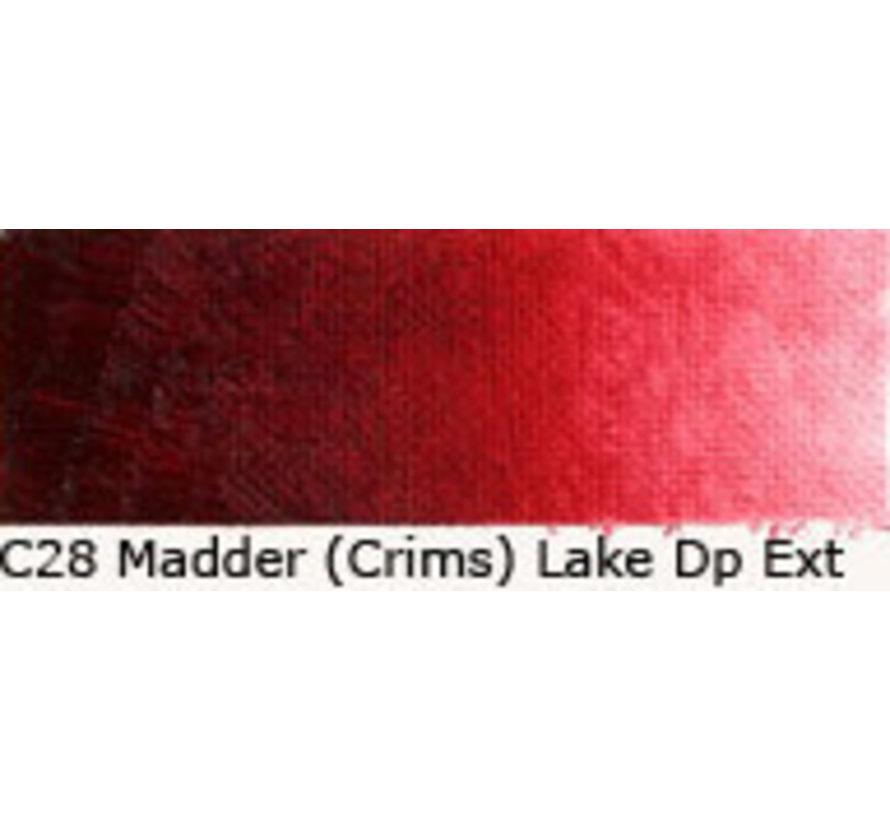 Scheveningen olieverf 40ml madder (crimson) lake deep extra C28