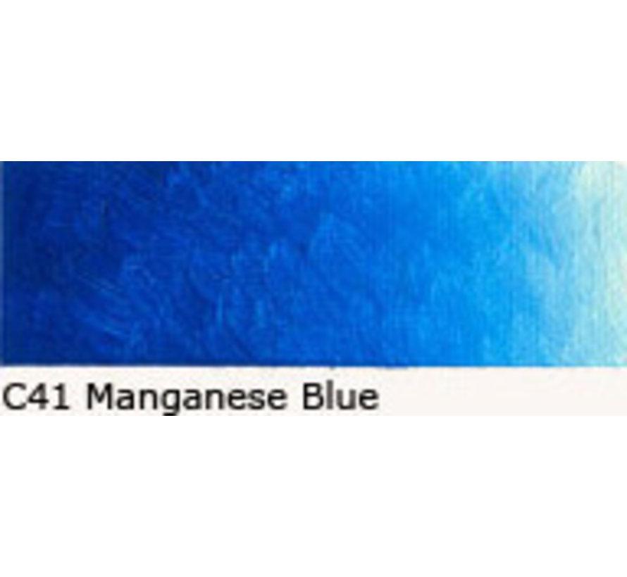 Scheveningen olieverf 40ml Manganese blue  C41