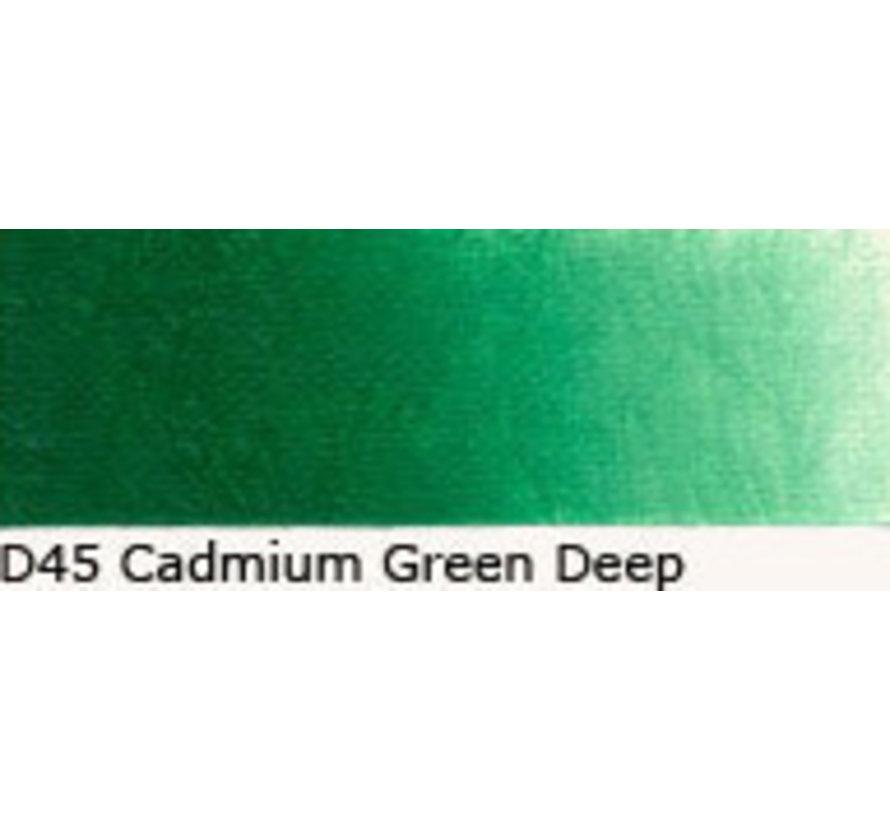 Scheveningen olieverf 40ml cadmium green deep D45