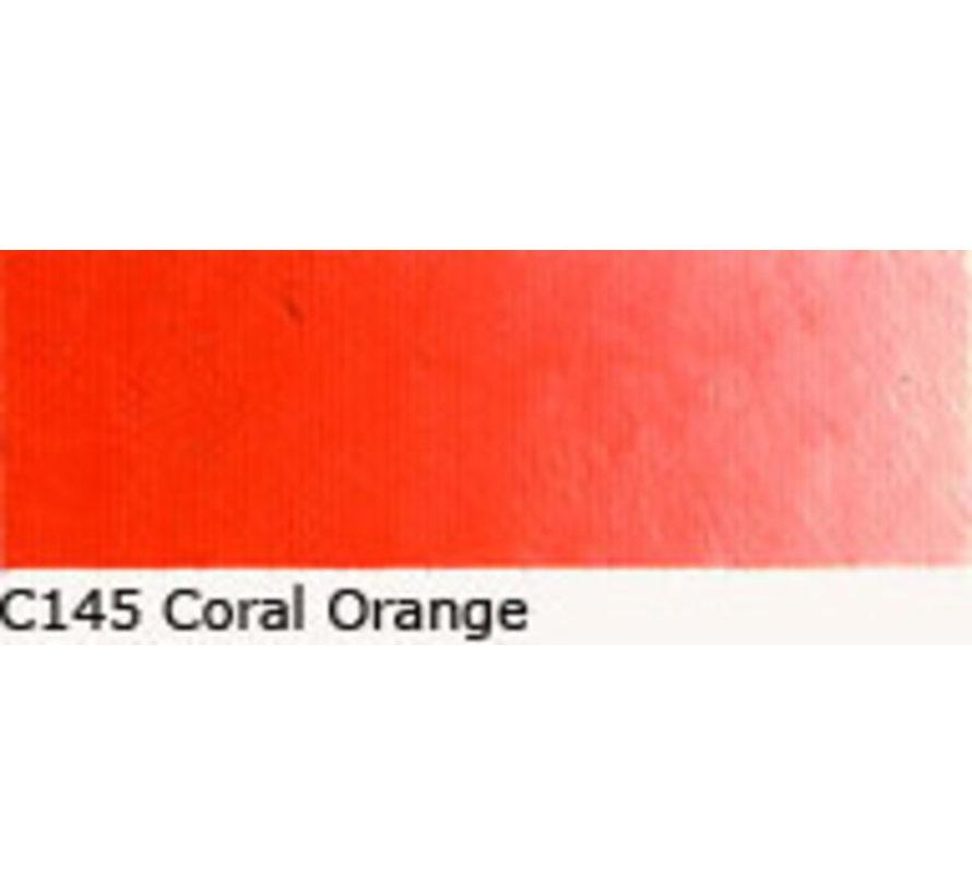 Scheveningen olieverf 40ml coral orange C145