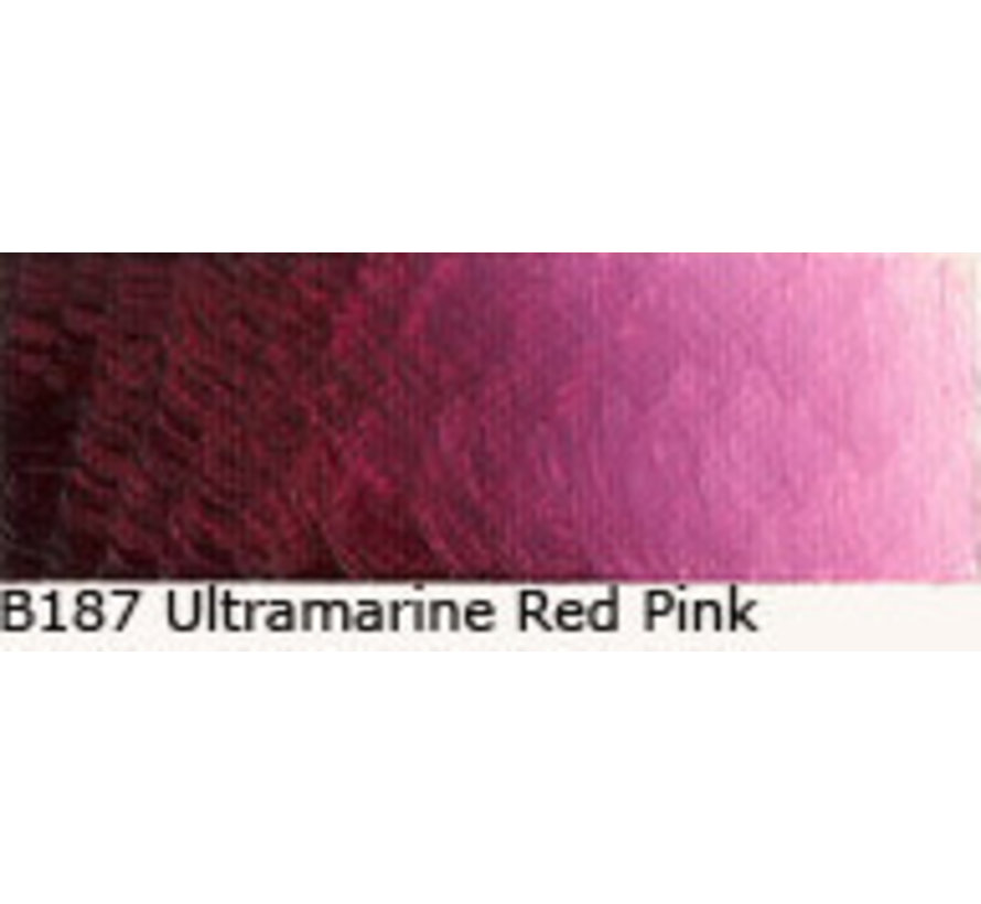 Scheveningen olieverf 40ml ultramarine red-pink B187