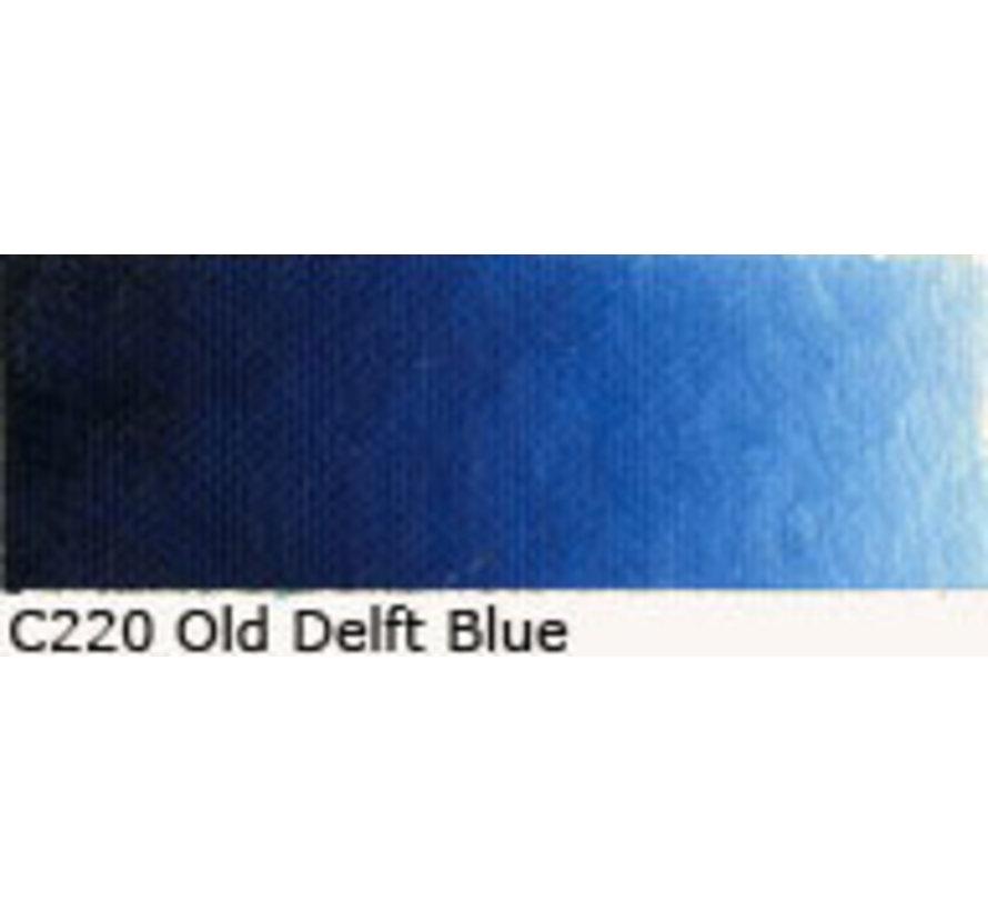 Scheveningen olieverf 40ml old delft blue C220