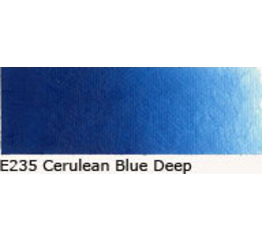 Scheveningen olieverf 40ml cerulean blue deep E235