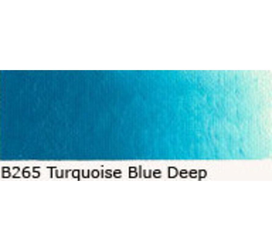 Scheveningen olieverf 40ml turquoise blue deep B265